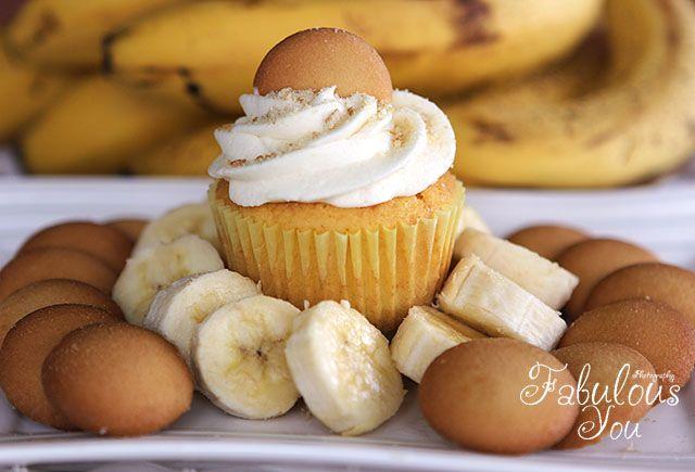 Banana Pudding Cupcakes: Cakes Mixed, Sweet Southern, Desserts Recipes, Bananas Puddings Cupcakes, Banana Pudding Cupcakes, Bananas Cupcakes, Puddings Cupcakes Yum, Southern Blue, Cupcakes Rosa-Choqu