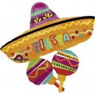 Sombrero & Maracas Foil $22.95 (Inflated) U26619