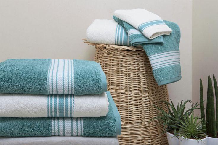 Ambiance tropicale dans votre salle de bain avec notre nouveau modèle Grand Hôtel turquoise des @Créations Jean Vier