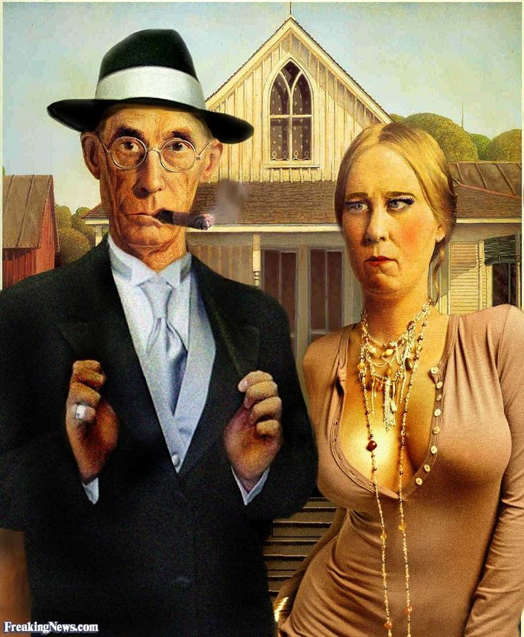 Opinion on american gothic painting