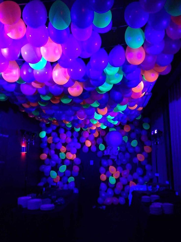 25 Super Glow in the Dark Ideen, um Ihre nächste Party zu beleben