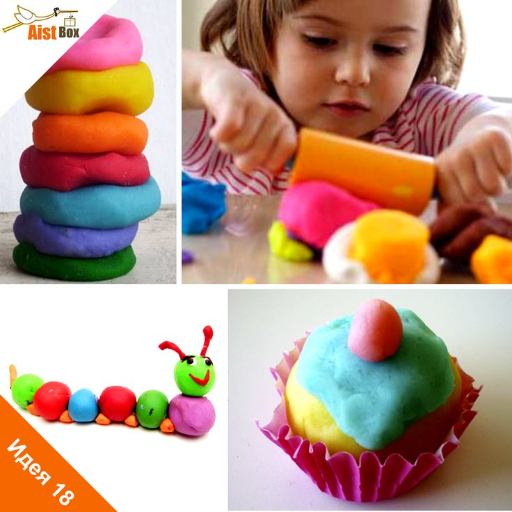 AistBox: 90 идей лета: Делаем домашний пластилин!