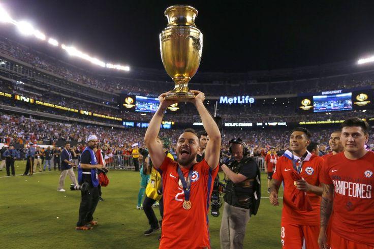 Chile 0 (4) - Argentina 0 (2)
