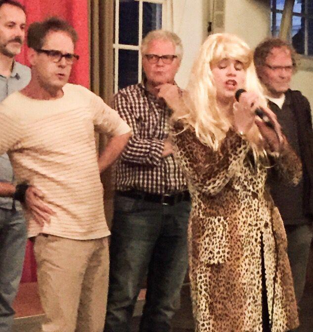 Acting, singing...