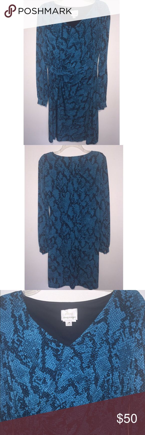 Donna Morgan Donna Morgan  Band New!  Authentic!  It was a gift, It came without a tag.  Never been used brand new! NO TRADES!! Donna Morgan Dresses Midi