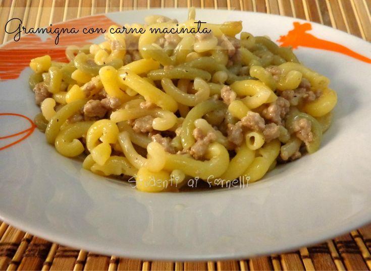 gramigna con carne macinata ricetta primo
