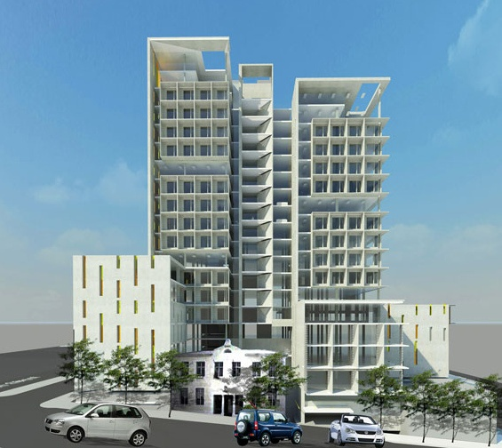 The Pulse. Proposal by Stauch Vorster Architects for new office for the Western Cape Provincial Government in the CBD.