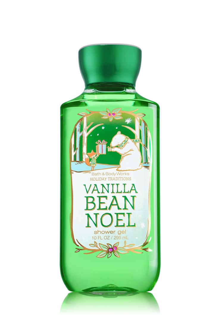 Vanilla Bean Noel Shower Gel - Signature Collection - Bath & Body Works.. did some xmas shopping today and fell in love with this scent!