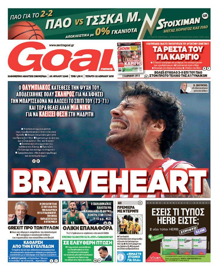 BRAVEHEART #GoalNews