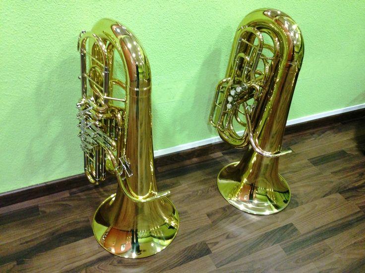 """Y estas para los más """"peques"""", nuestros modelos más compactos para que disfrutes desde bien pronto con la tuba"""