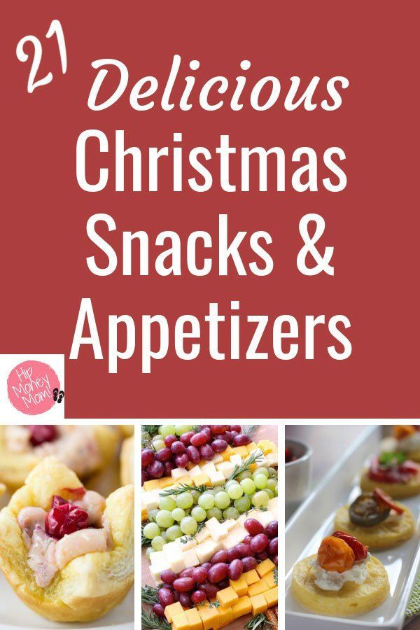 21 Delicious Christmas Snacks  Appetizers Recipes To Try