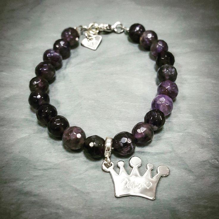 Crown & amethyst
