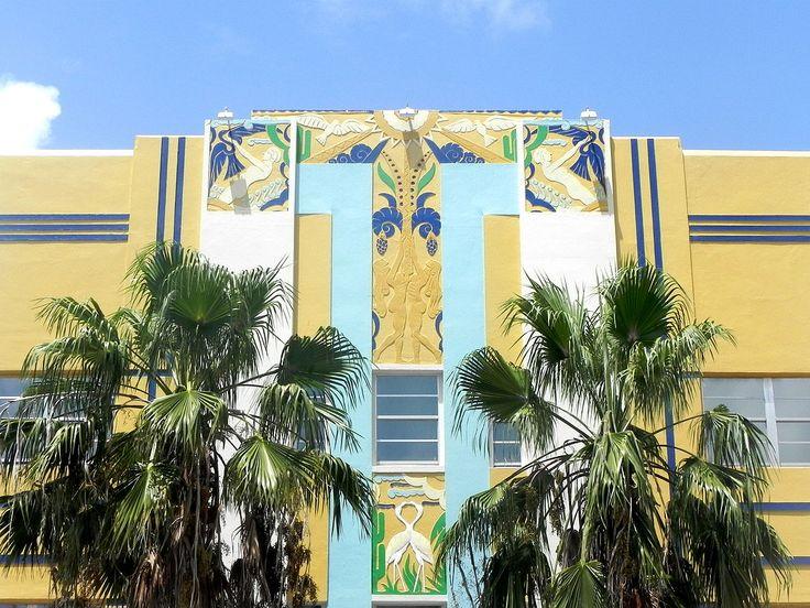 One of Miami's art deco masterpieces #Pantone2016