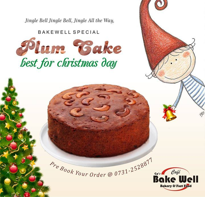 Jingle Bell Jingle Bell Jingle All the Way Bakewell Special  Plum Cake best for christmas day. . #christmas #plumcake #cake #hotelcrown palace #delicious #indore hotel #healthy #bakewell #cafe #bakery and #fastfood Hotel Crown Palace - http://ift.tt/1HQJd81