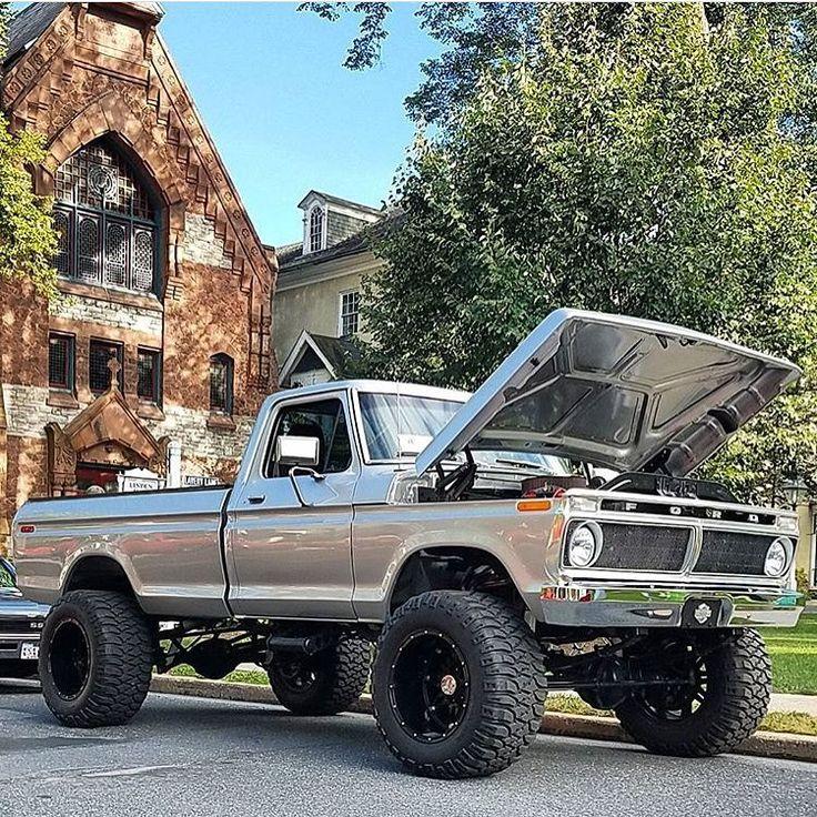 Rate this Truck! #powerstroke #truck #liftedlife #liftedtrucks #diesel