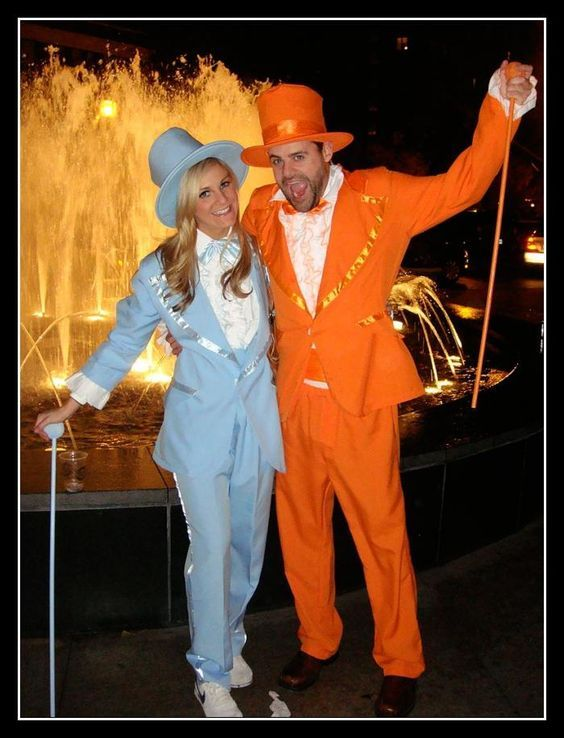 2020 Halloween Couples Costume Ideas dumb and dumber couples costume on | DI costumes | Celebrity