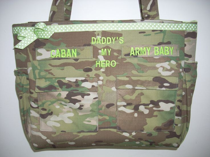 Gifts for babies and kids diaper bags personalized customized Army Multicam Navy Air Force Marines your choice of colors, fabrics, embroider by bythebayoriginals on Etsy