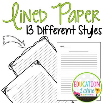 32 best Test Prep images on Pinterest Art lessons, Classroom - lined paper for writing