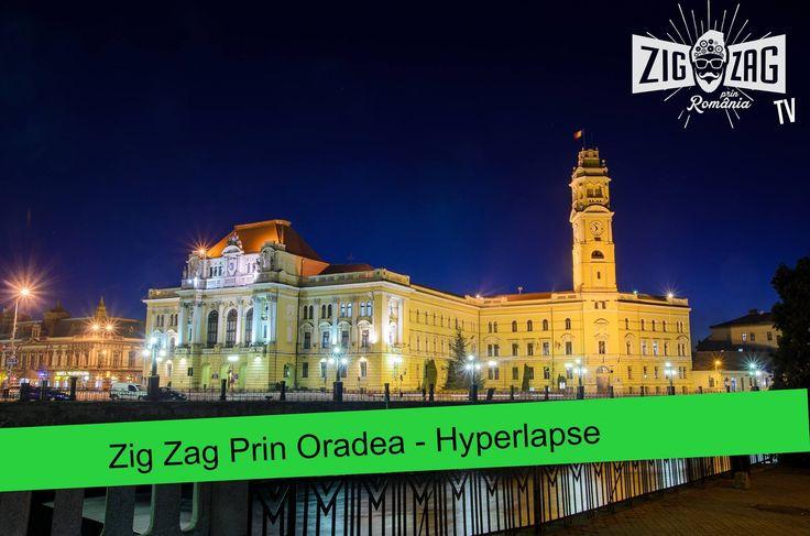 """Zig Zag prin Oradea - Hyperlapse """"Se spune că după crearea munților, a câmpiilor, a râurilor, vegetației și animalelor, Marele Creator a colindat la pas toată lumea. Dorea să-și vadă """"copiii"""" și să-i numească pe fiecare."""