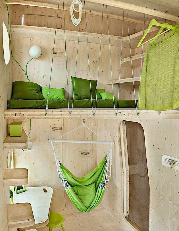 Architektur: Moderne Studentenwohnung im kleinen Holzhaus | KlonBlog