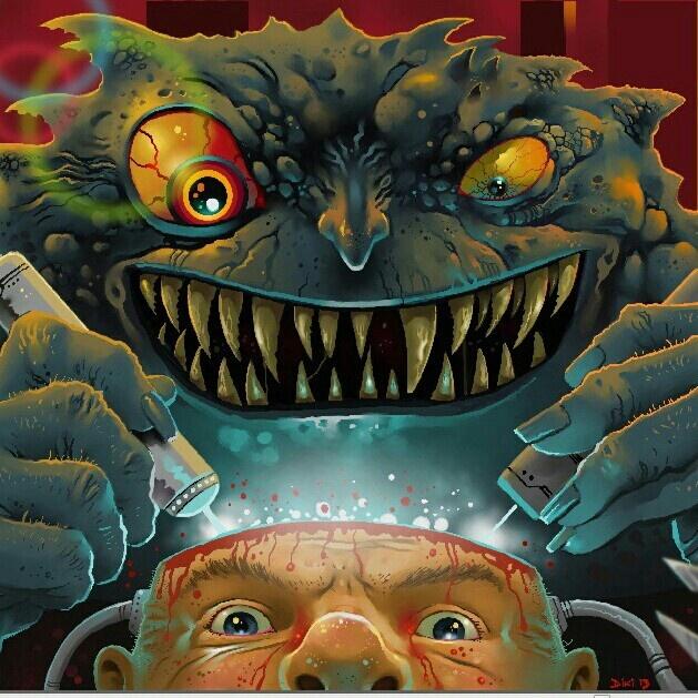 2000ad Bad Company : Kanos brain torture