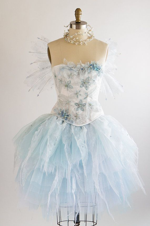 Hey, I found this really awesome Etsy listing at https://www.etsy.com/listing/202001972/adult-fairy-costume-size-s-frozen-winter