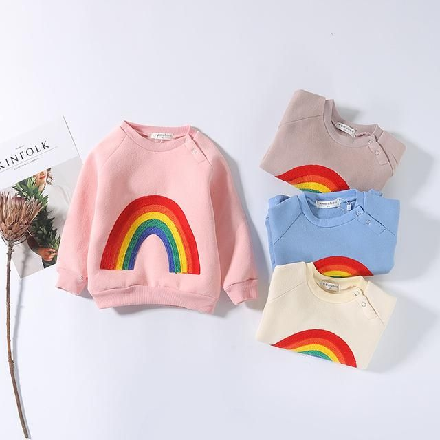 Grab 'em before they sell out! Rainbow Sweater on my Shopify store✨   http://dreamlittleangel.com/products/rainbow-knitted-pullover?utm_campaign=crowdfire&utm_content=crowdfire&utm_medium=social&utm_source=pinterest Baby rainbow sweater/ Fall shop/ baby sweatshirts/ rainbow birthday party ideas/ rainbow baby shower ideas/ 1st birthday party ideas/ toddler clothing/ baby winter clothing
