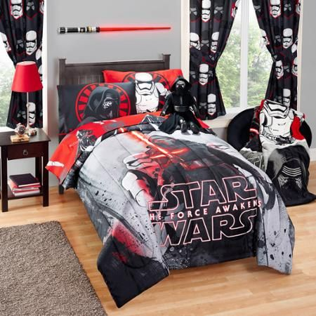 $27 comforter  Star Wars Episode VII Rule the Galaxy Twin/Full Comforter - Walmart.com