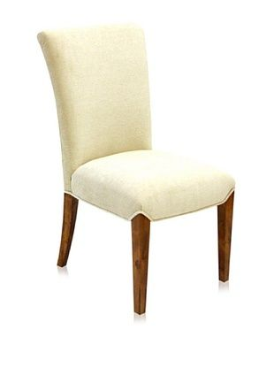 65% OFF Armen Living Kennedy Side Chair, Cream