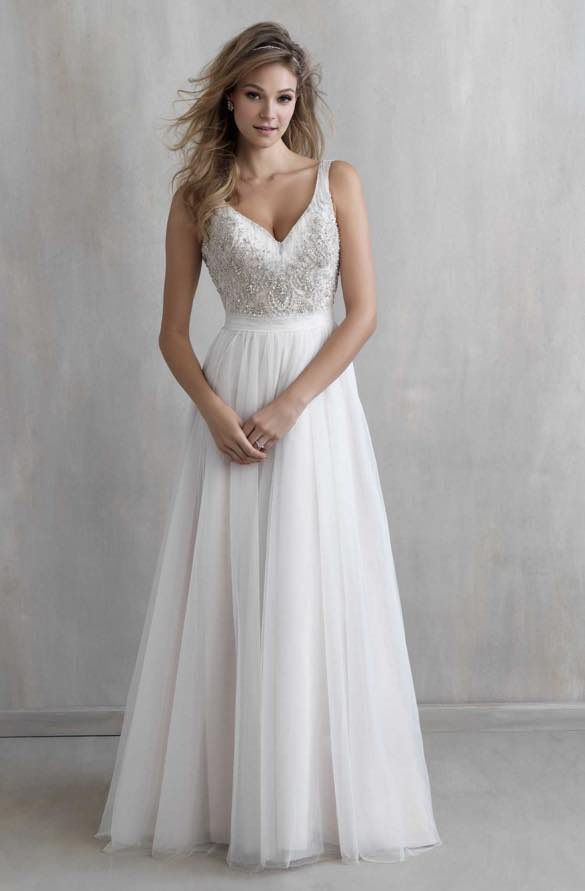 Fancy Elegant Wedding Dresses with Classic Details