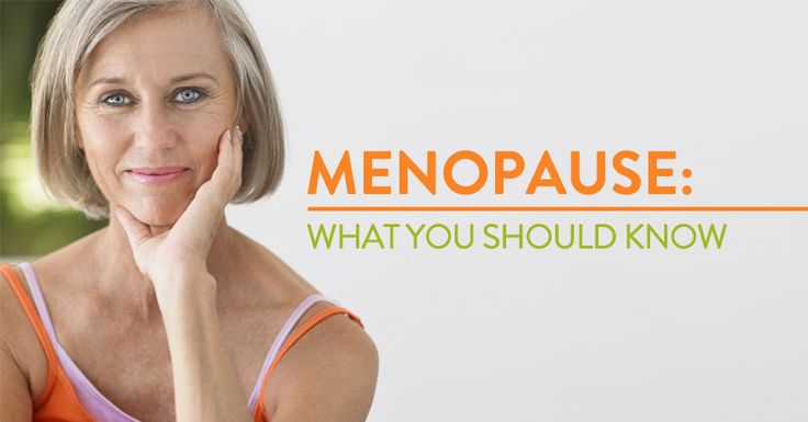 Menopause is a change of life for women