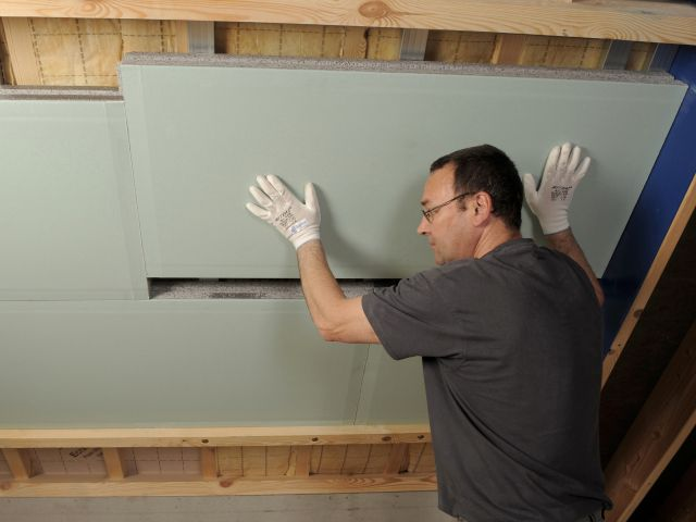 Thermogyp Comfort Universele Renovatieplaat Voor Daken Muren En Plafonds Binnenmuren Muur Isoleren Buitenmuren