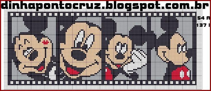 http://dinhapontocruz.blogspot.com.br/2014/11/mickey-e-minnie-ponto-cruz.html