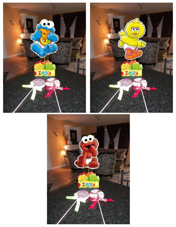 Diy quot small baby sesame street birthday party