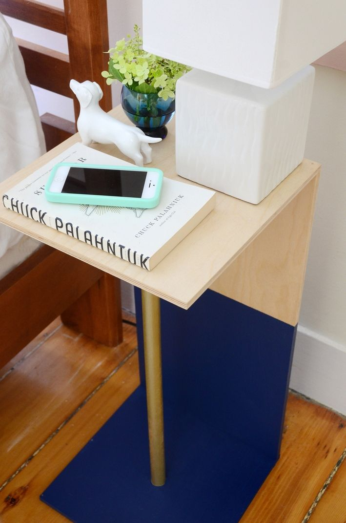 An Incredibly Easy Wooden C Table