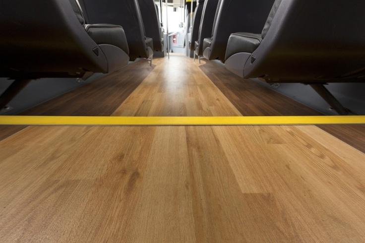 Altro Transflor Timbersafe II used on Yellow Buses
