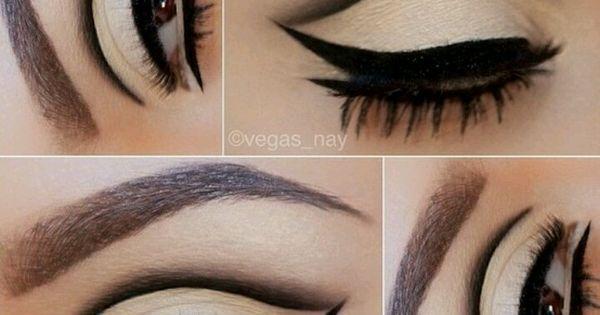 Cut Crease: Aprenda a fazer a maquiagem da moda | Makeup, Makeup geek store and Cat eyes
