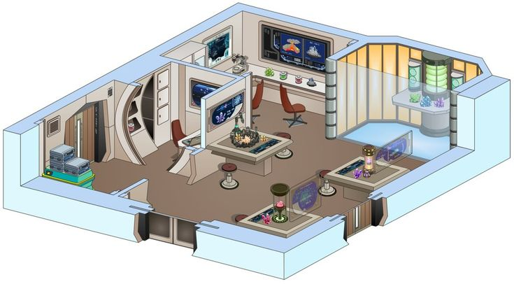 I did this one as a commission for EnigmaResolve (enigmaresolve.deviantart.com/). It's the interior of his ship named Cascade, wich ispart of his own storyinfluenced by Star Trek.