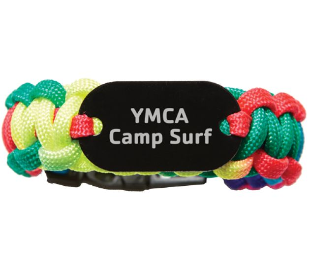 Custom Tie Dye Paracord Bracelet