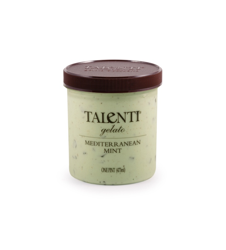 Finally found a store with another Talenti gelato flavor: Mediterranean Mint - a cross between Andes Mints, Girl Scout Thin Mints and a grasshopper drink - perfect!