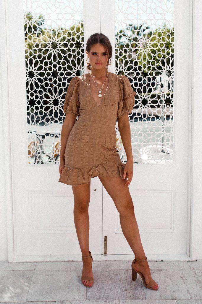 SIMPLY GORGEOUS MINI DRESS! Shop now from Nouveau Riche Boutique!   whattowear  guestoutfits 532ee9e27