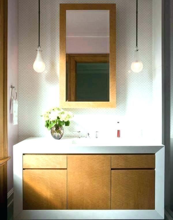 Hanging Pendant Lights Over Bathroom, How To Hang Bathroom Lights Over A Mirror
