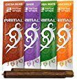 Primal Herbal Wraps Variety Pack, Tobacco & Nicotine Free (12 Total Wraps, 6 Packs of 2) + Beamer Smoke Sticker. Use with Herbal Blends. Compare to Rolling Paper  Health & Personal Car