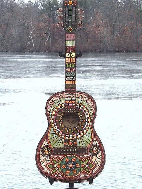 1000 Images About Mosaic Guitars On Pinterest Mosaics