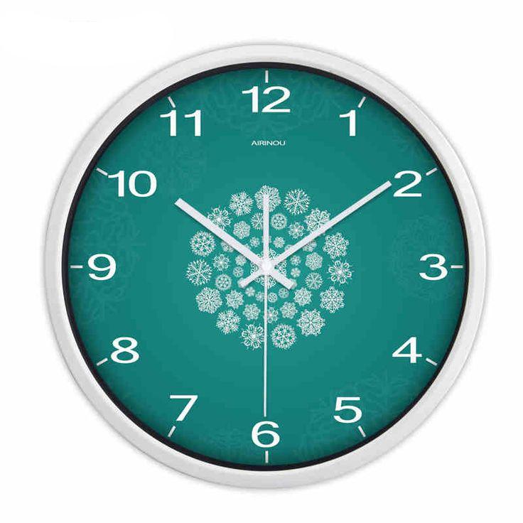 Large Decorative Wall Clocks Home Decor Vintage Horloge Murale Reloj De Pared Quartz Metal Retro Big Digital Wall Clock QQN483