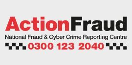 ActionFraud is the UK's national fraud and cyber crime reporting centre.