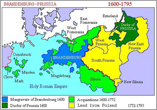 Pierre III (mari de Catherine la Grande, monte sur le trône à la mort de la tsarine Élisabeth, le 5 janvier 1762, et prend le nom de Pierre III. Il n'a rien de plus pressé que de se retirer de l'alliance avec la France et l'Autriche contre la Prusse, sauvant son héros, Frédéric II, d'une situation désespérée. Il restitue à la Prusse la Poméranie et la Prusse-orientale.