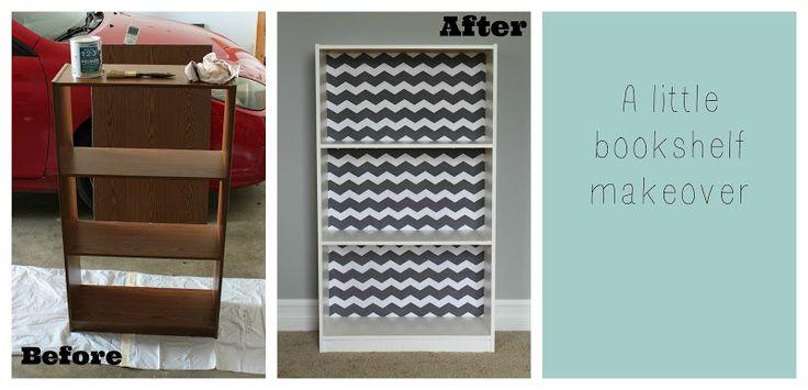 all things DIY: A little bookshelf makeover.