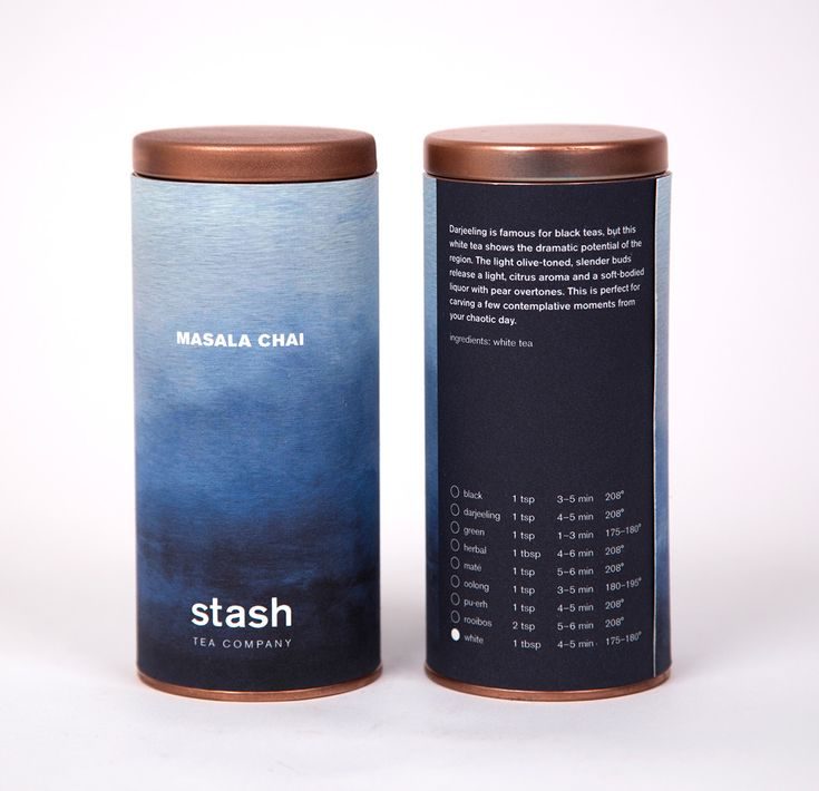 Stash Tea Company on Behance