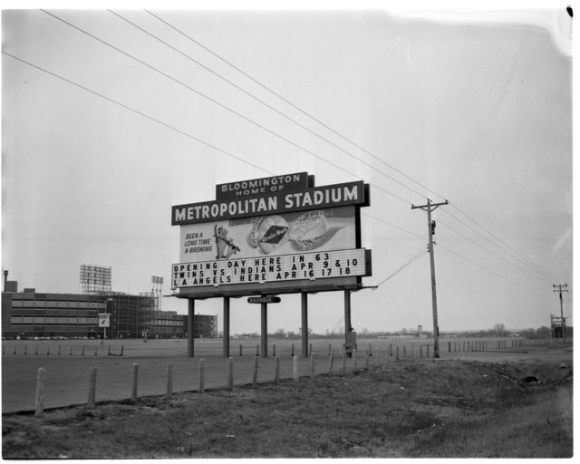 Stuff about Minnesota — stuffaboutminneapolis:   Metropolitan Stadium,...